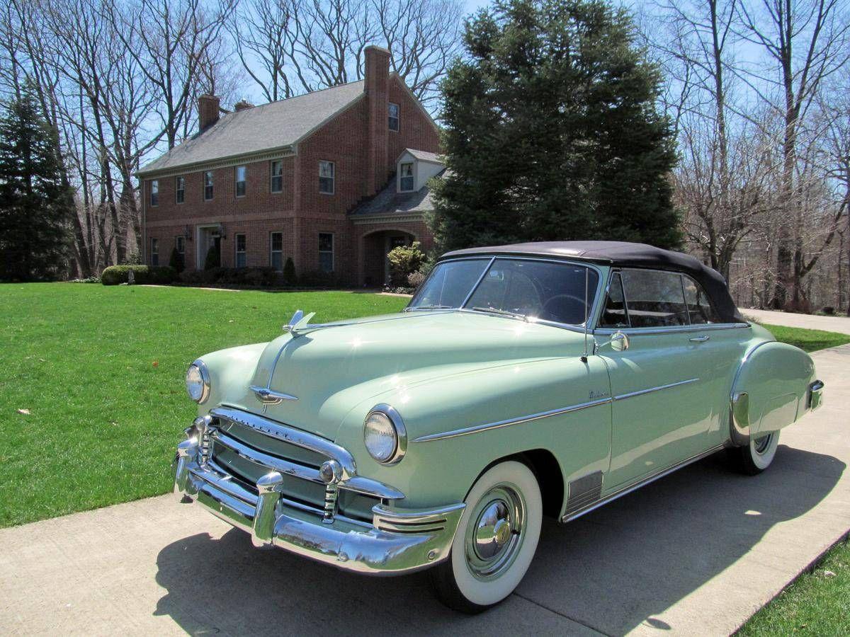 1950 Chevrolet Styleline Deluxe Convertible Hemmings Motor News