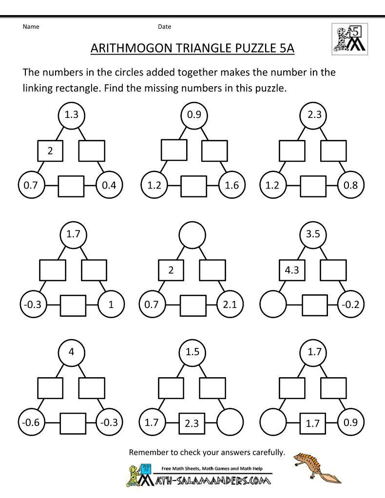 38 Printable Math Logic Puzzles Math Logic Puzzles Maths Puzzles Math Worksheets
