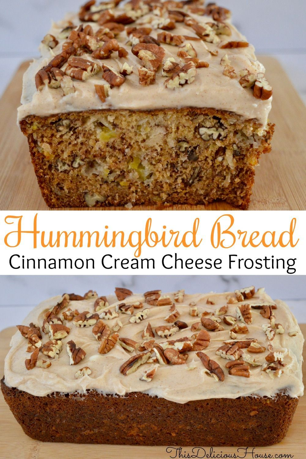 Hummingbird Bread Cream Cheese Frosting