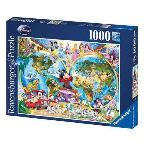Disney world map 1000 piece jigsaw puzzle 1000 piece jigsaw puzzles disney world map 1000 piece jigsaw puzzle gumiabroncs Gallery