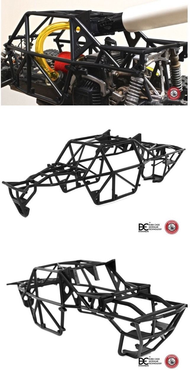 New Kraken Rc Class 1 Tsk B True Scale Kit Roll Cage For Hpi Baja 5b 5t 5sc Projetos De Carros Carros Kart