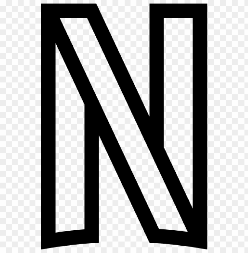 Netflix Logo Png Line Black And White Color Png Image With Transparent Background Png Free Png Images Black And White Colour Logo Outline Black And White Logos