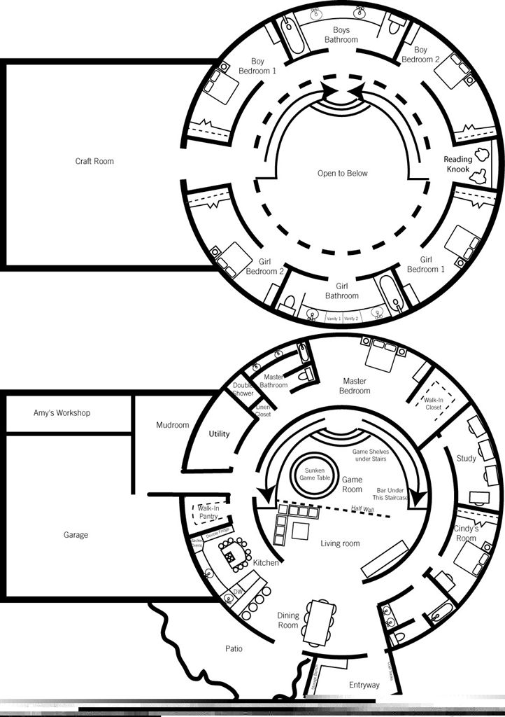 dome floor plans | floor plan of our dream home — a monolithic