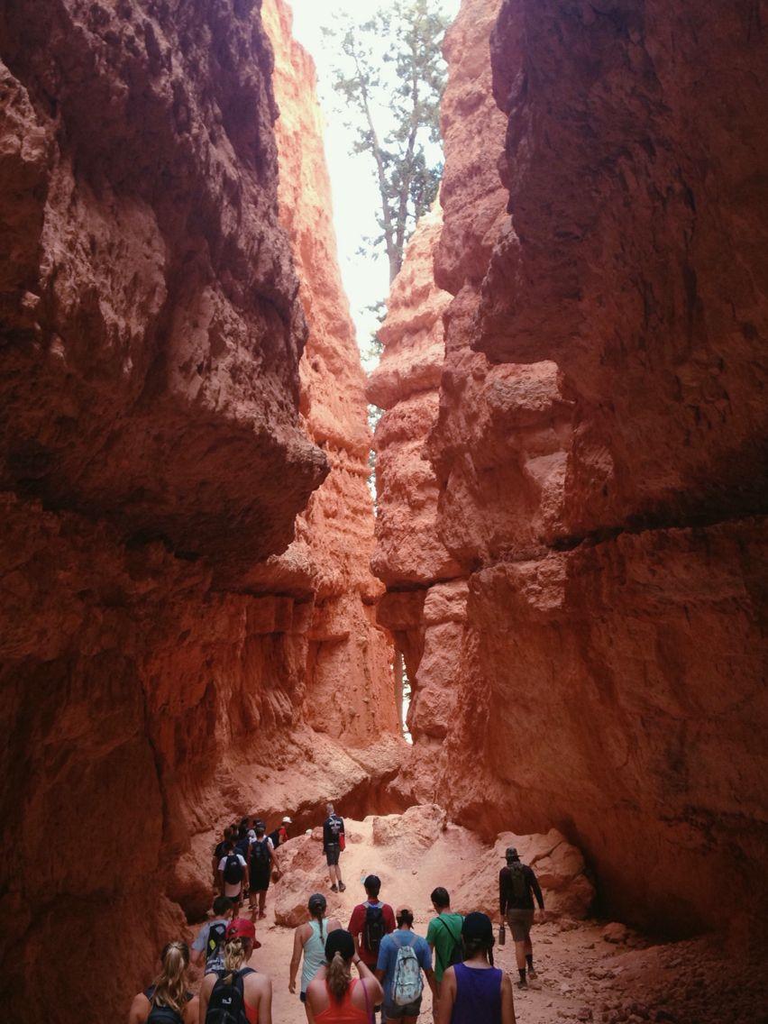 Bryce Canyon National Park| peek-a-boo trail