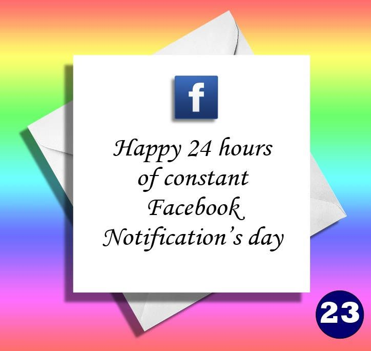 Facebook Notifications Cardreally Funny Greeting Cardsother