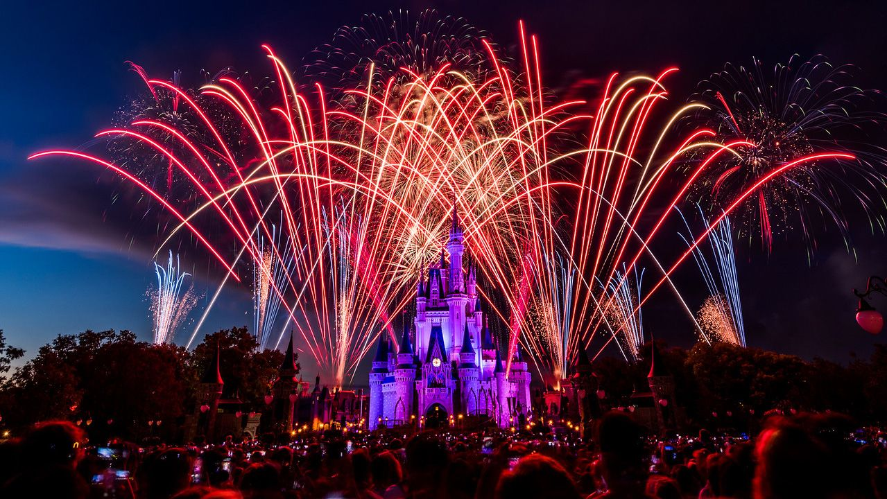 Independence Day Cinderella Castle