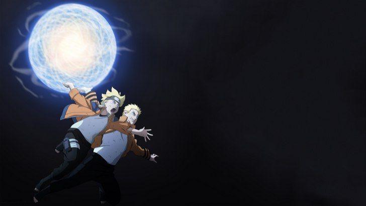 Naruto And Boruto Rasengan Wallpaper Boruto Wallpaper Anime Animasi