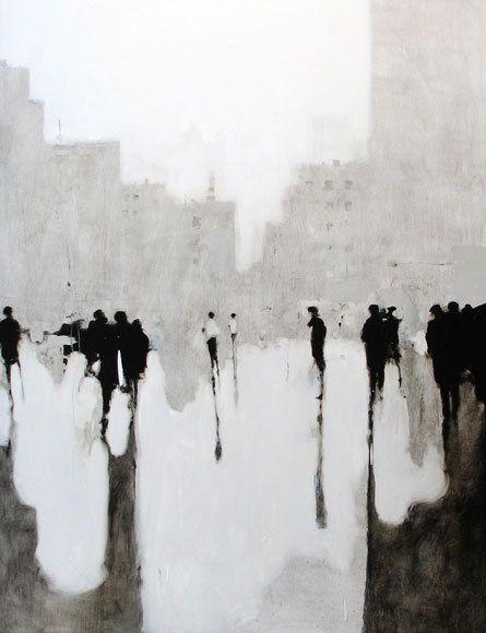 De L Art En Noir Et Blanc Peinture Abstrait