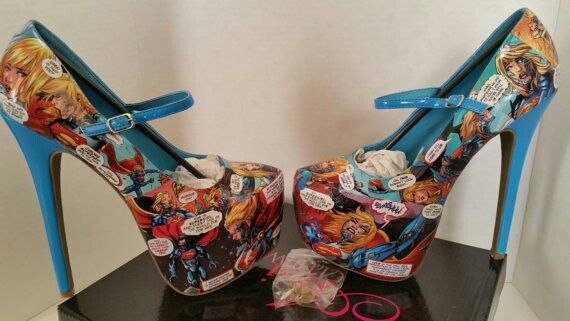 Supergirl shoes