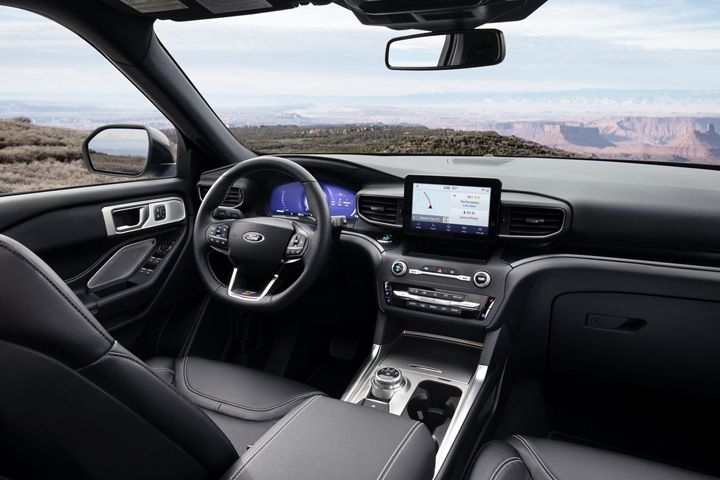 Ford Explorer Limited Interior Di 2020 Teknologi