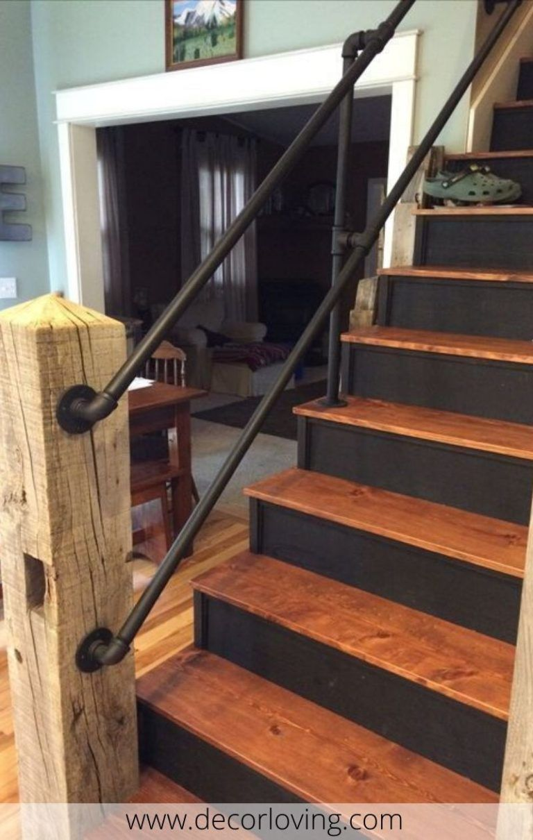 20 Attractive Stair Railing Ideas For Home Decor You Must Try ...
