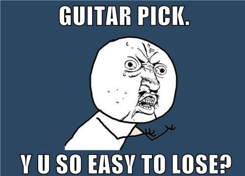 Can't tell you how many times this has happened. I'm a recovering pick loser. I haven't lost a pick in 2 years.