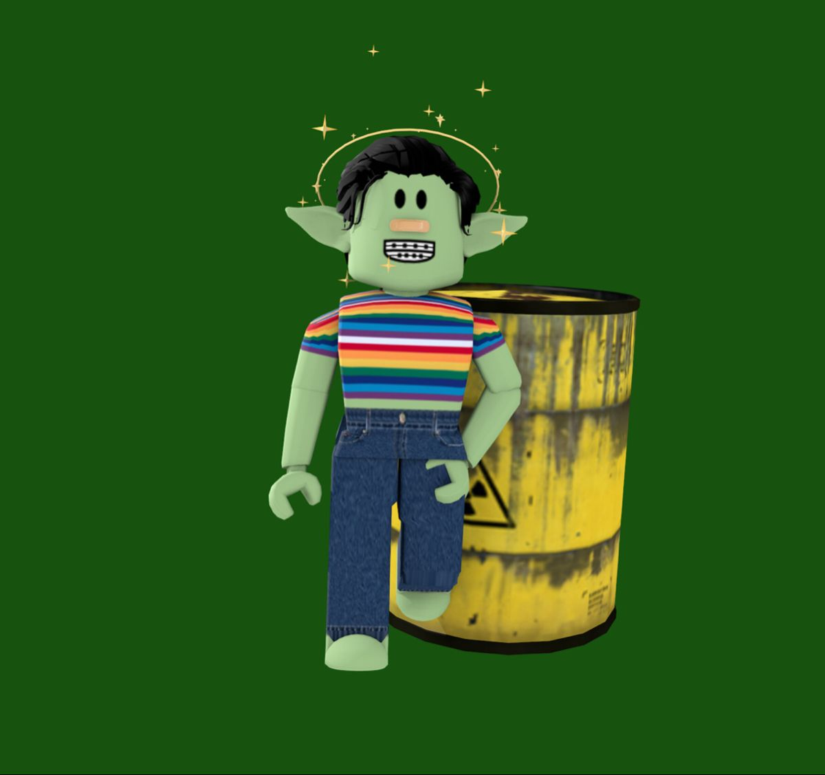 toxic waste goblin me in 2020 roblox goblin roblox