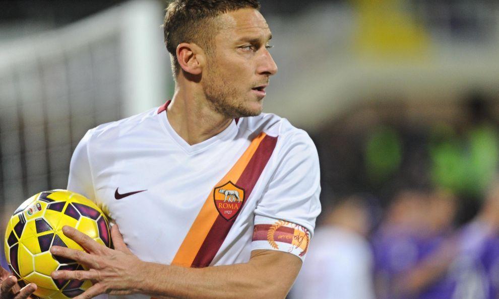 Totti er influenza ramt og tvivlsom mod Cagliari!