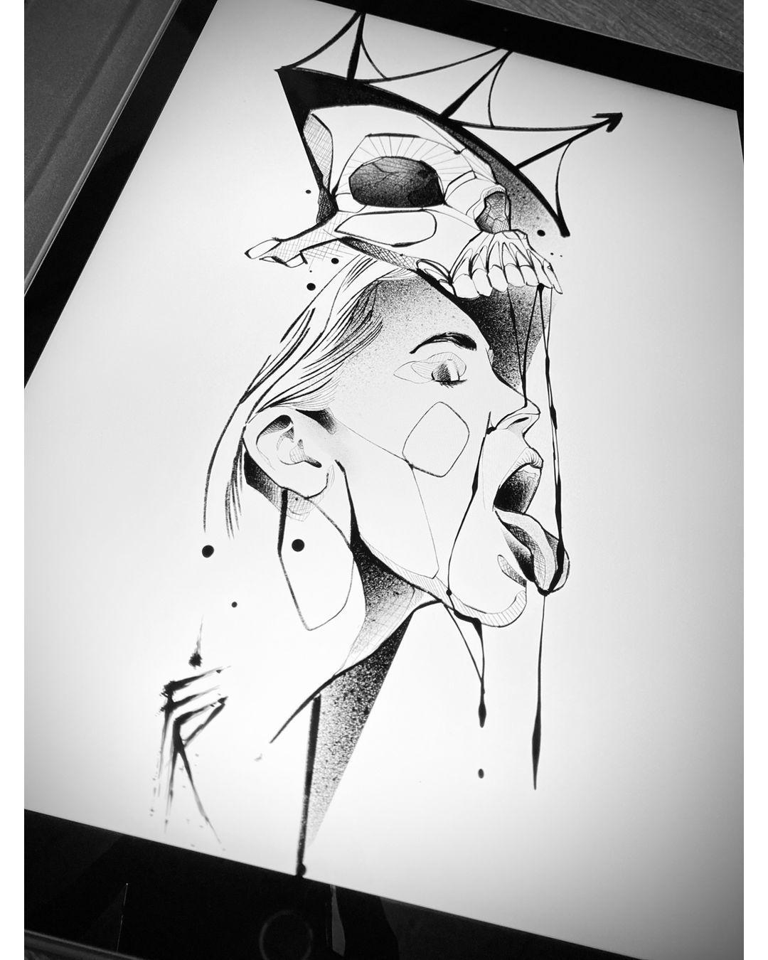 Concept available. 2021 Book your appointment: DM or flavio@flaviorezende.com ⠀ #tattooforgirls #iblackwork #blacktattoing #blackworkerssubmission #darkartists #tattoodo #blackworkartists #blackwork #thebesttattooartists #inspirationtatto #tattooartistmagazine #thinkbeforeuink #Equilattera #tattrx #inkedmag #tattooartists #stencilstuff #art_spotlight #torontotattoo #tattootoronto #blacktattoo #floraltattoo