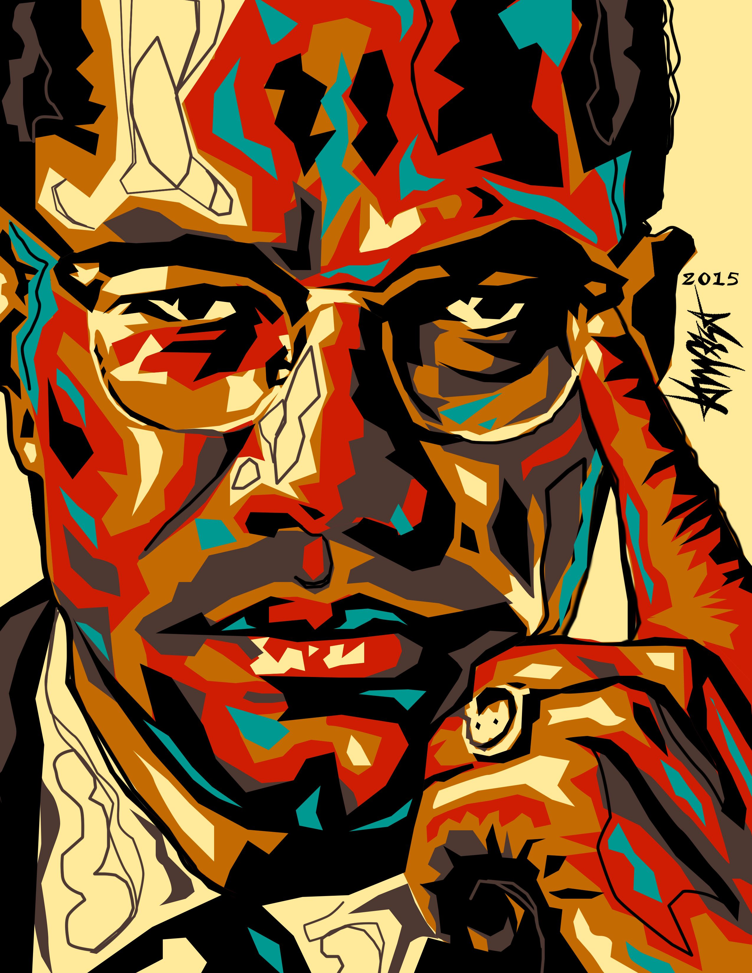 Faces Of The World Batch 1 On Behance Malcolm X Dri Ilustre Movie Poster Art King Drawing Art