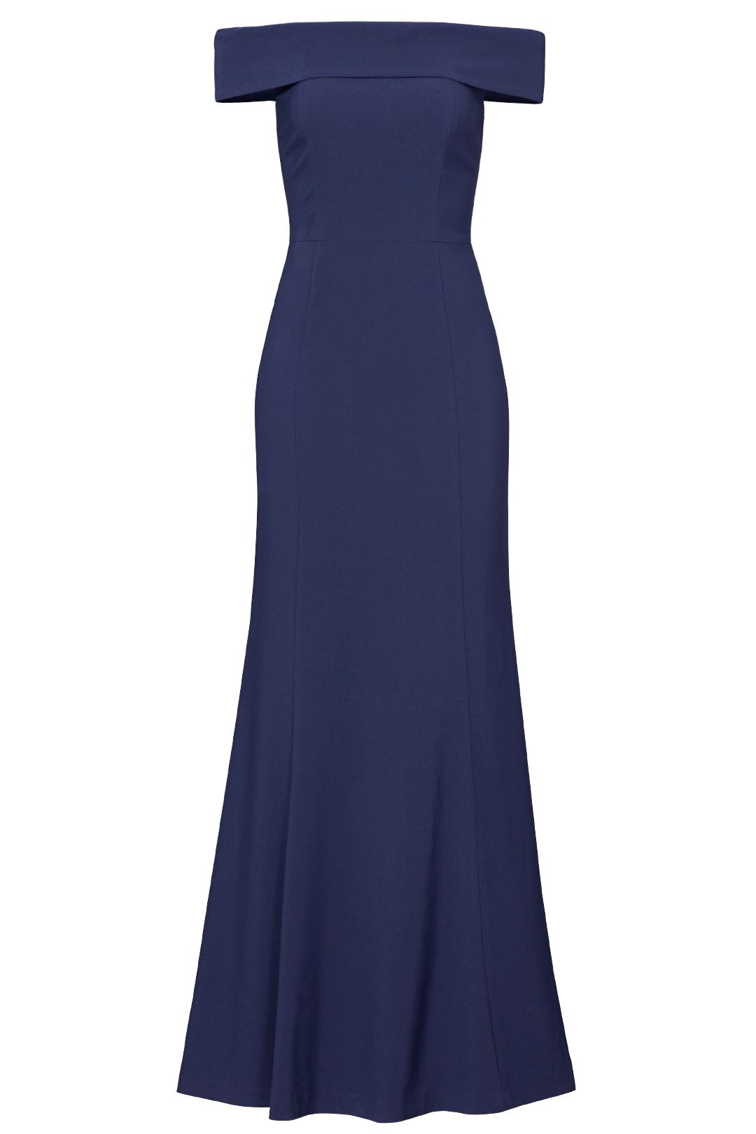 Navy off shoulder gown currently obsessing pinterest shelli