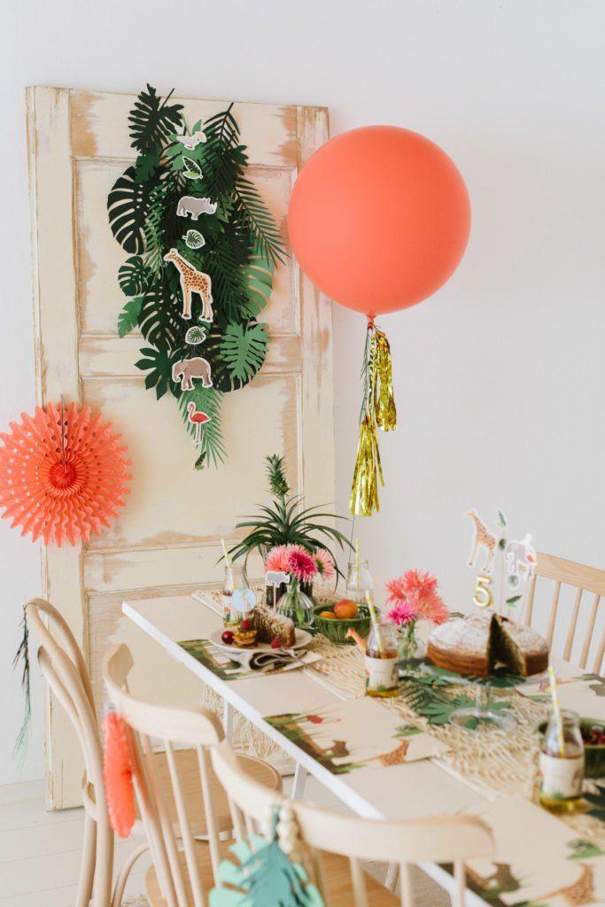 So wird der Kindergeburtstag zur Safari Dschungel Party! – Fräulein K. Sagt Ja Hochzeitsblog