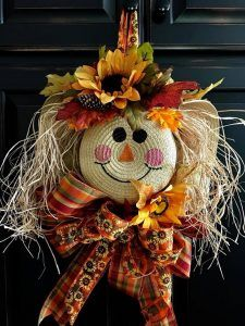 DIY Ideas Archives - Page 5 of 54 - Crafty Morning #scarecrowwreath