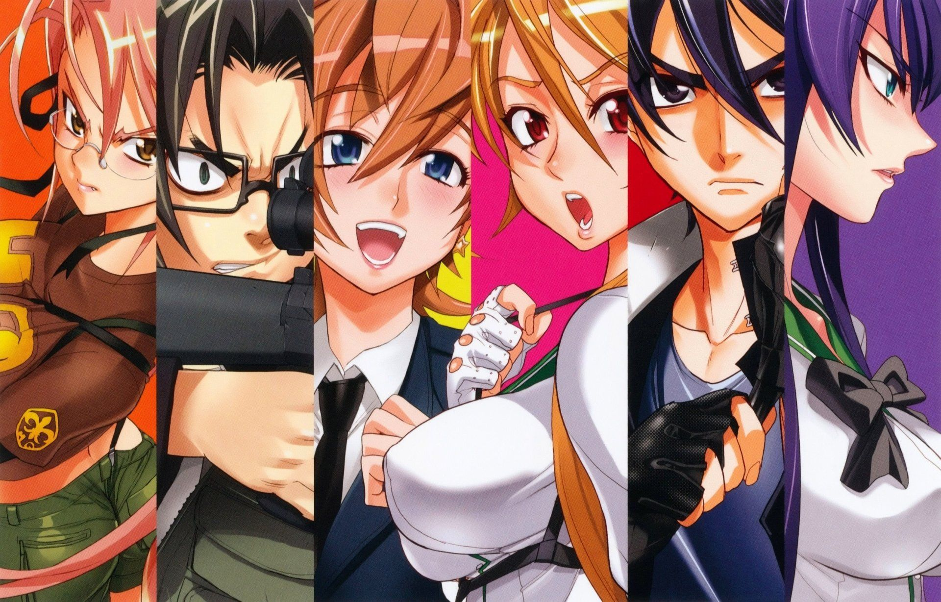 highschool of the dead bd 1080p