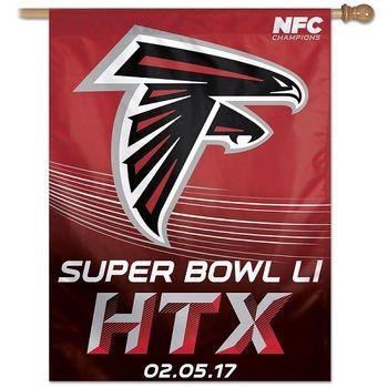 Atlanta Falcons NFL Super Bowl LI Banner Flag