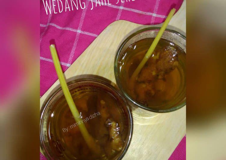 Resep Wedang Jahe Sereh Aren Oleh Dita Puji Lestari Resep Wedang Jahe Resep Minuman Jahe