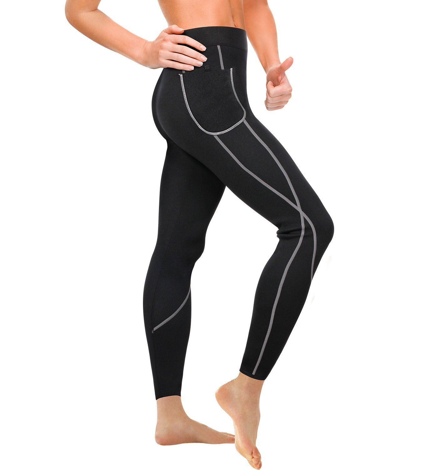 NEW Hot Slimming Shapers Pants Belt Thermo Wear Capri Anti Cellulite Weight Loss