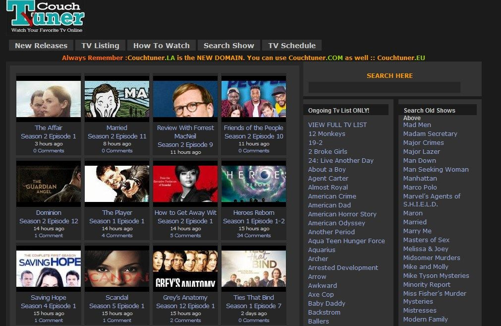 Best Couchtuner Watch Free Streaming Free Tv Shows Tv Shows