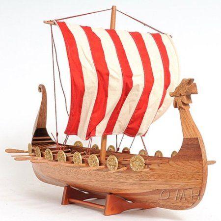 Amazon.com: Old Modern Handicraft Drakkar Viking Boat: Patio, Lawn & Garden