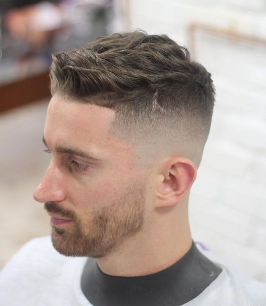 Magnificent Menshairstyletrends Com Fade Haircut Pinterest Haarschnitte Hairstyle Inspiration Daily Dogsangcom