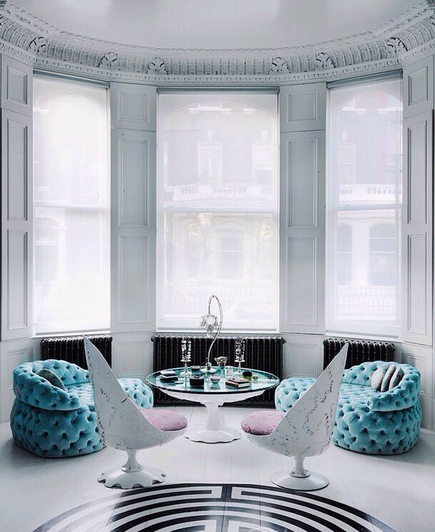 Tiffany blue | Living room furniture trends, Floor design ...