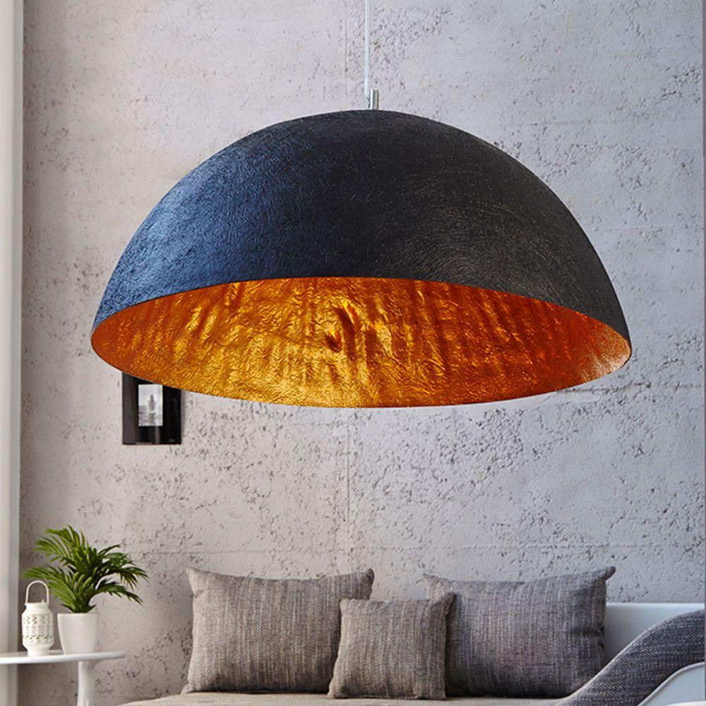 LED Deckenleuchte Deckenlampe Schlafzimmer Leuchte Lampe Negio schwarz-gold