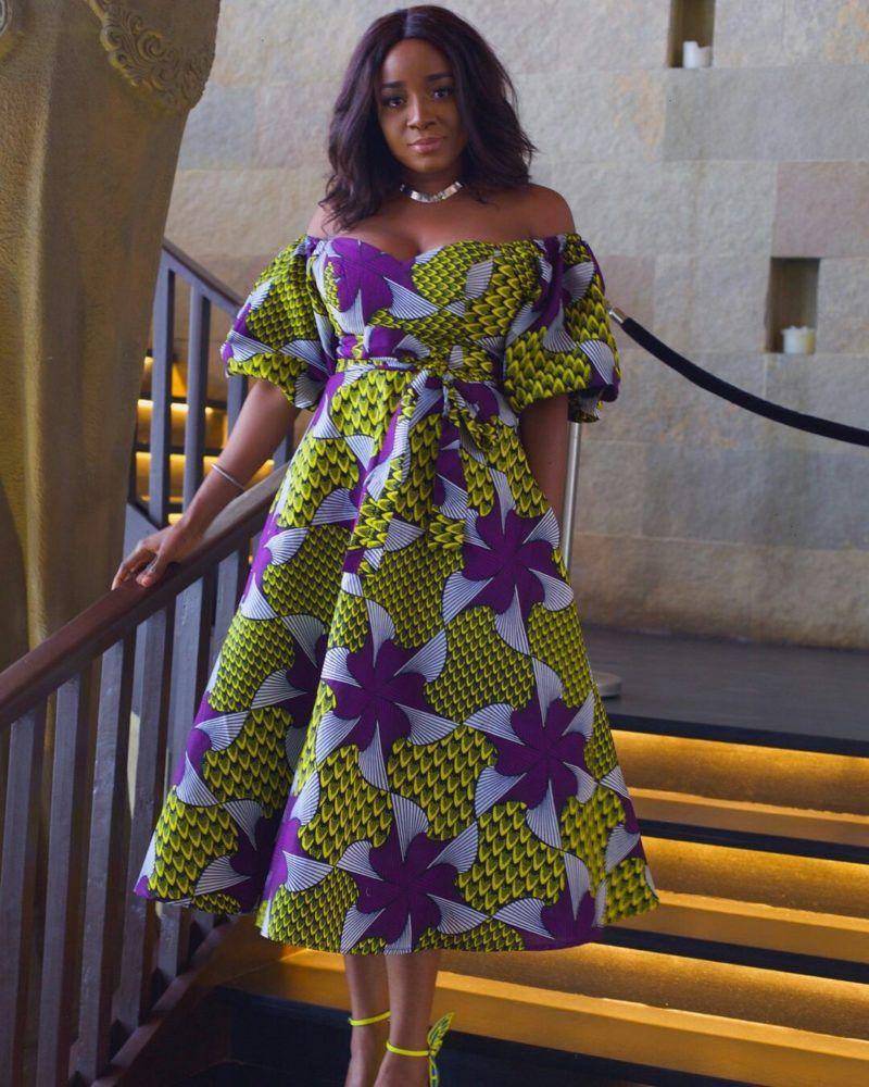 20 Jolies Modeles De Robes En Pagne Moda Africana Pinterest