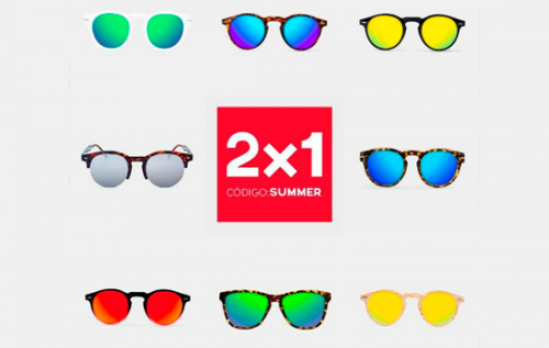 e7c939f8e30 Promoción de 2x1 en gafas de sol en D.Franklin