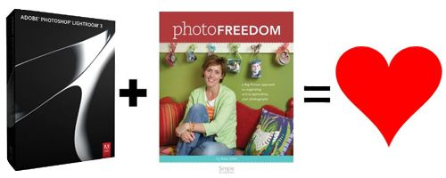 Photo Freedom using Lightroom (at alicegolden.typepad.com)