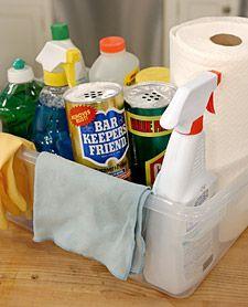 Basic Kitchen Cleaning Supplies Martha List