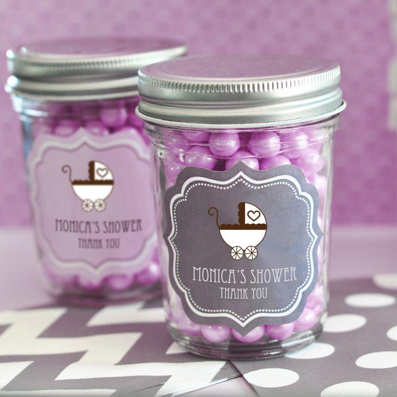 The Favors Boutique | Baby Shower Mini Mason Jars