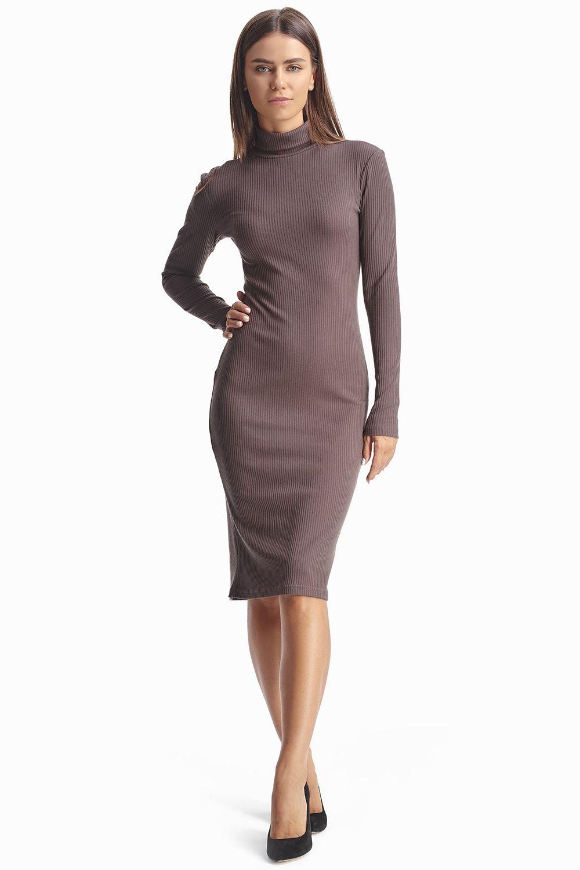 eae9df71d97b572 Платье-гольф цвета мокко 2018 купить в интернет-магазине женской одежды  Natali Bolgar