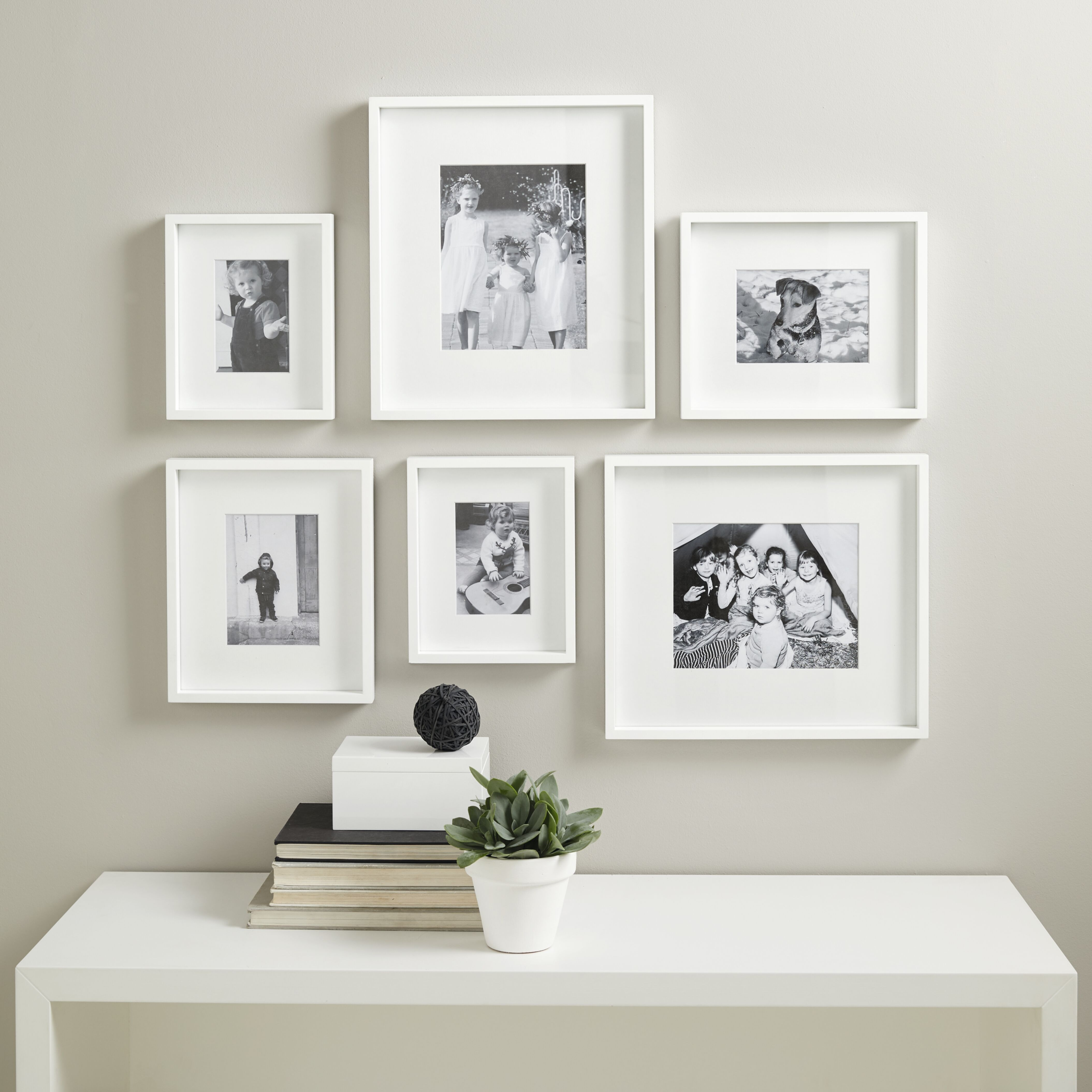 Picture Gallery Wall Small Photo Frame Set Photo Frames The White Company Picture Gallery Wall Gallery Wall Design Frames On Wall