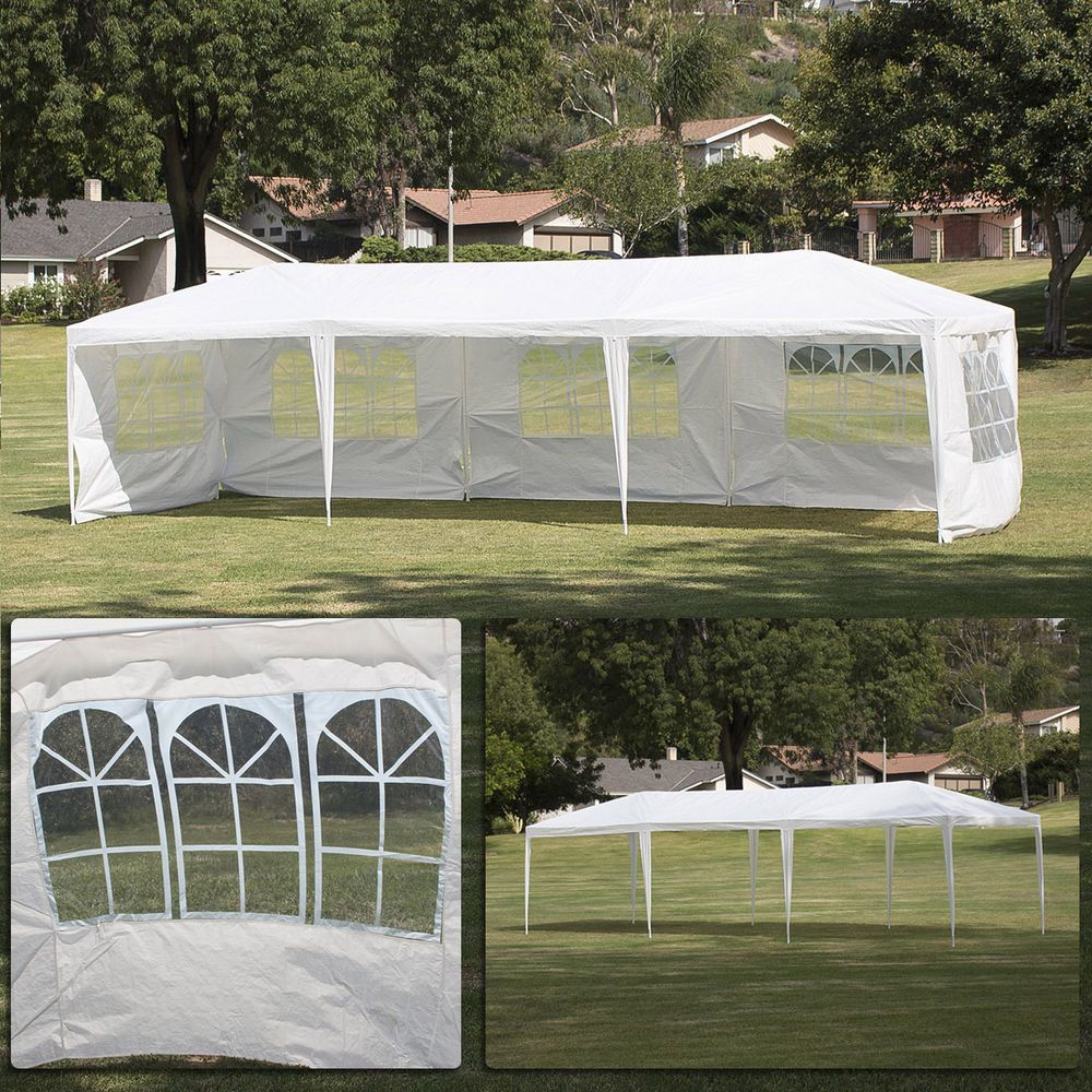 10 X30 Canopy Party Wedding Outdoor Tent Heavy Duty Gazebo Pavilion Cater Events Outdoor Tent Canopy Outdoor Patio Tents