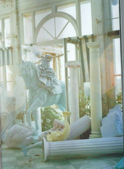pastel horse by Tim Walker