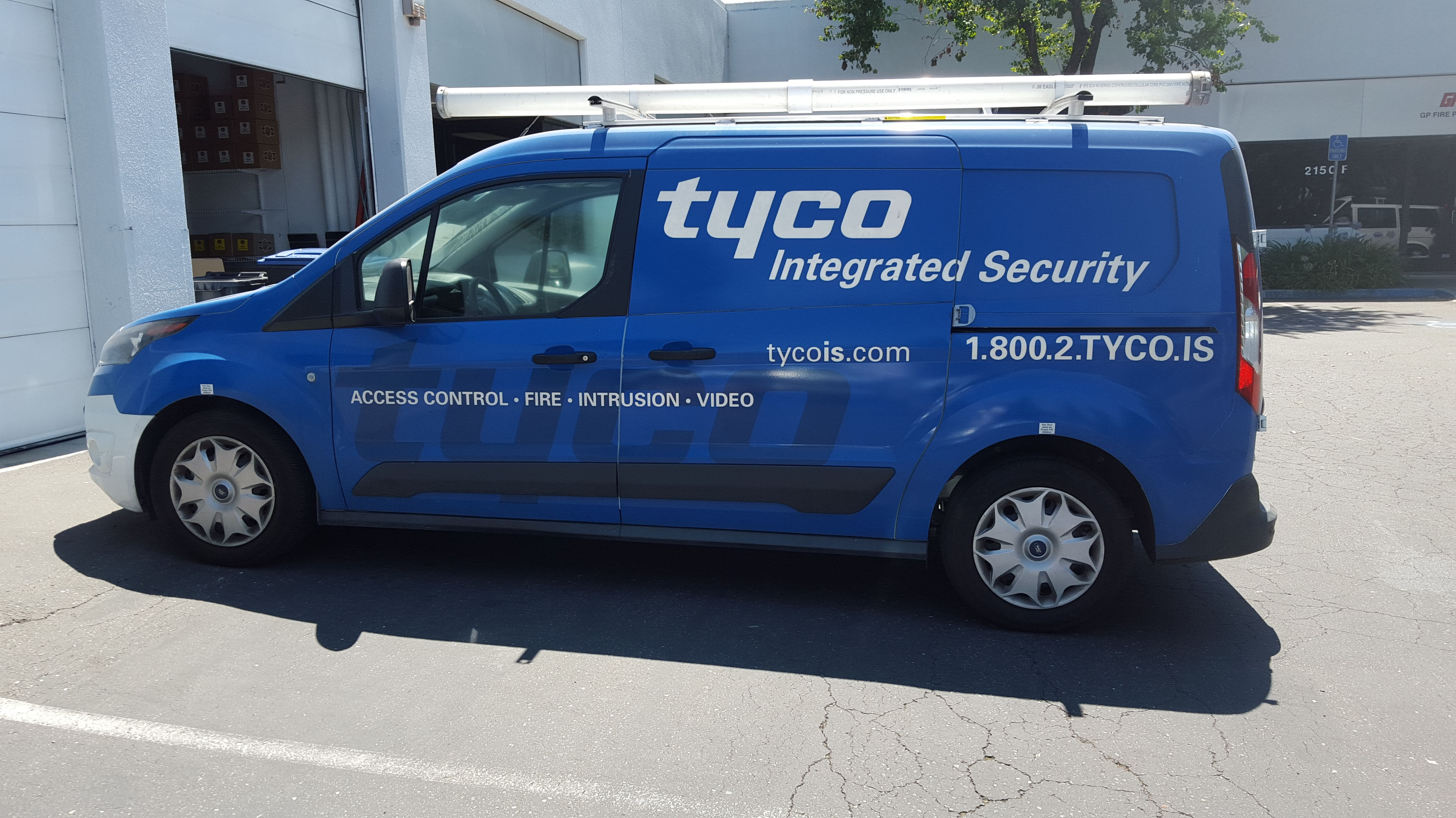 Tyco vehicle graphics by Insignia Deisgns Vehicle wraps for local