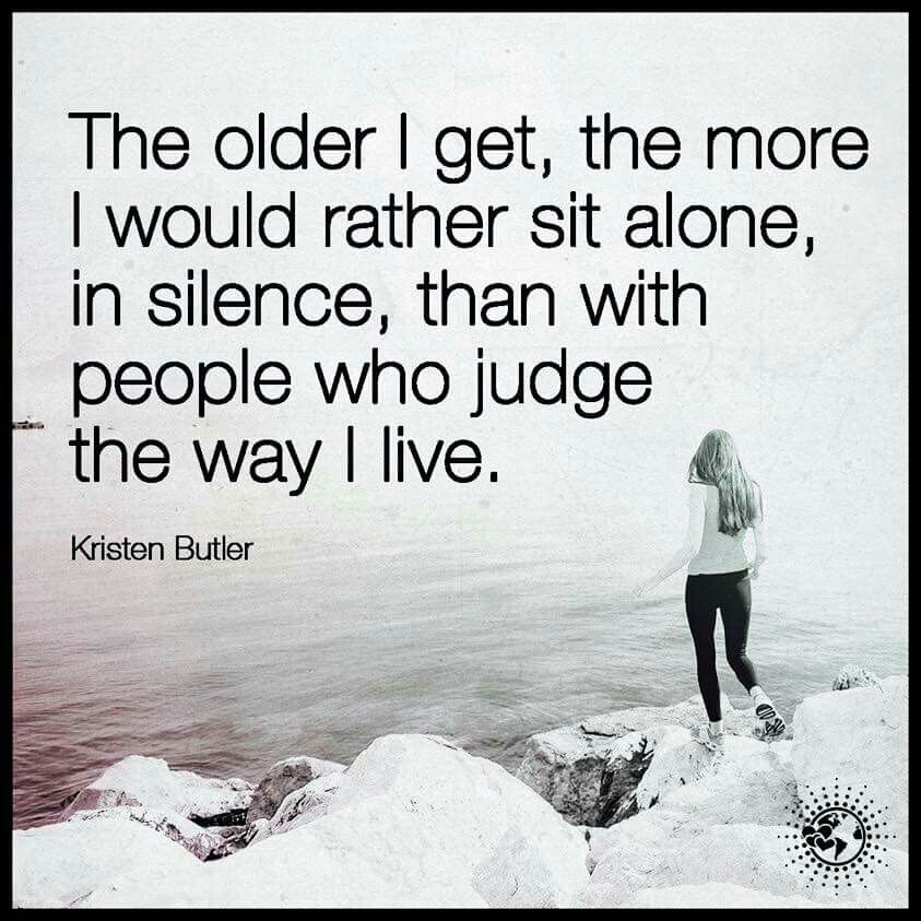 Id rather be alone … | Alone quotes, Power of positivity, Words