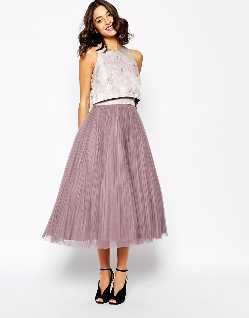Coast Harven Dress with Pleated Skirt | Schick, Tüllrock und Kleider
