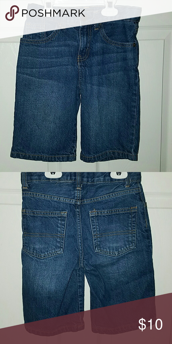 Boys Denim Shorts (Assorted Set of 3) Boys Denim Shorts size 8  *Oshkosh and Wrangler Osh Kosh Bottoms Shorts