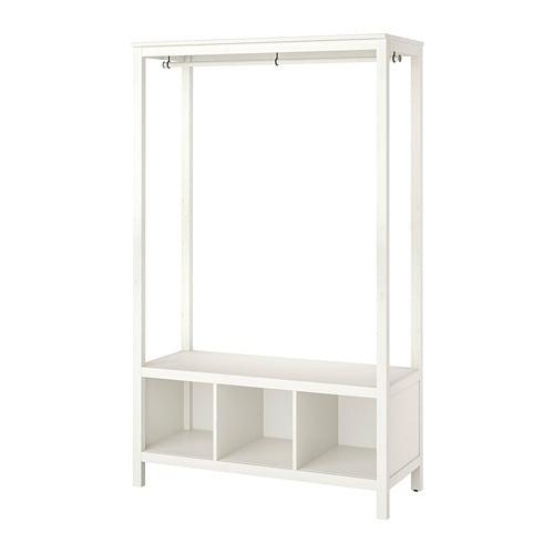 Pax Hemnes Guardaroba Ikea.Hemnes Guardaroba A Giorno Mordente Bianco In 2019 Ingresso