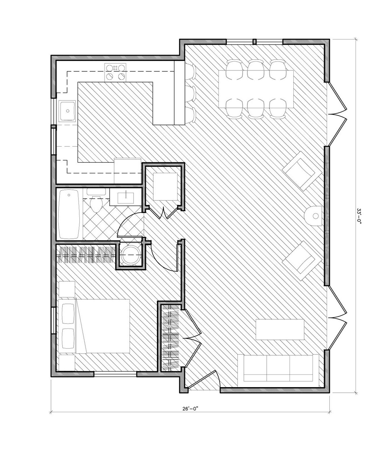 Pearl Cottage Plan Mother In Law Cottage Tiny House Floor Plans House Floor Plans