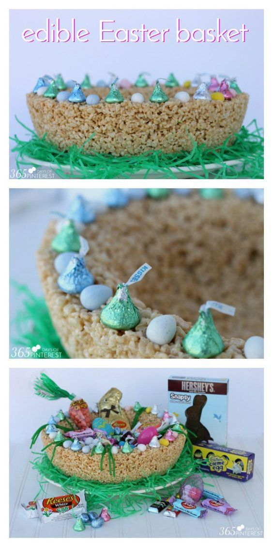 This year celebrate easter with a unique edible easter basket this year celebrate easter with a unique edible easter basket stuffed full of my favorite negle Gallery