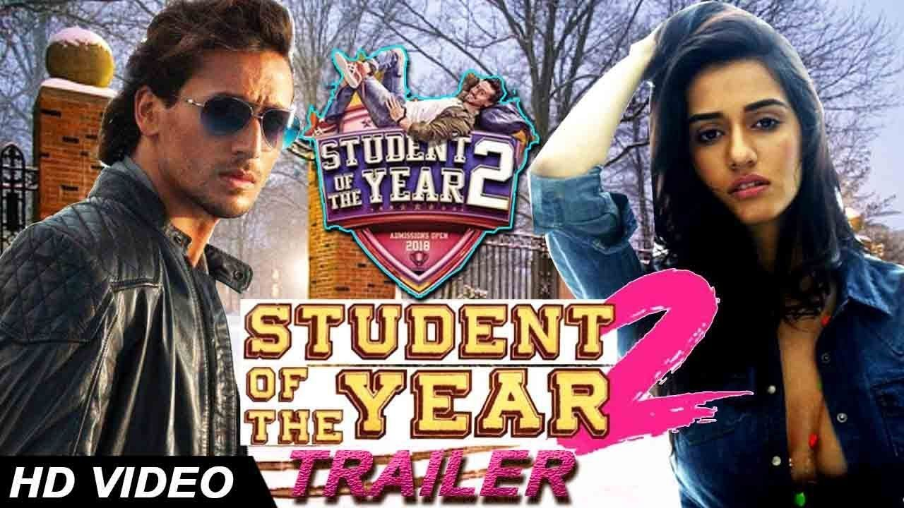 Student Of The Year 2 Official Trailer Join Tiger Shroff New