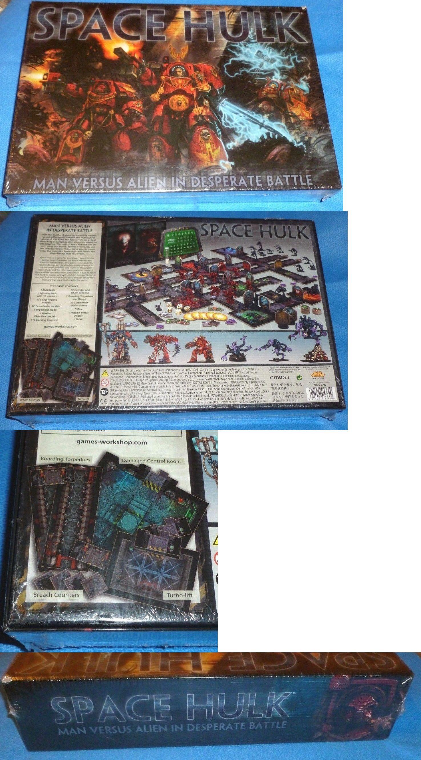 40k Starter Sets 183472 Space Hulk Game 2014 Edition Sealed Oop